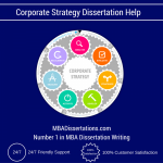 Corporate Strategy Dissertation Help
