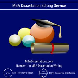MBA Dissertation Editing Service