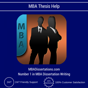 MBA Thesis Help