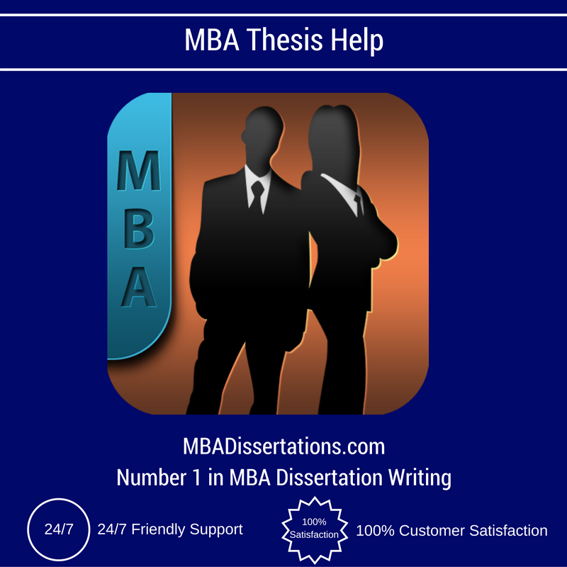 Dissertation mba proposal