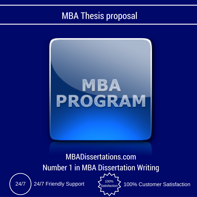 thesis of mba Preparing for a thesis defense kate hemeon, ma family studies and gerontology department upon the approval of your thesis committee and the appointment of an external examiner.