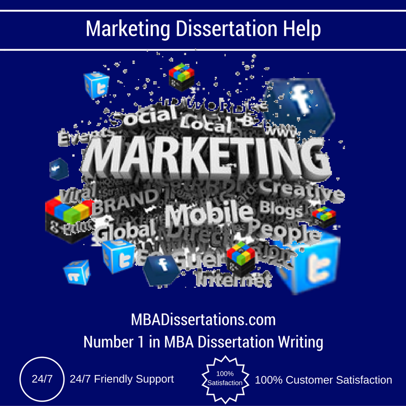 Marketing dissertation