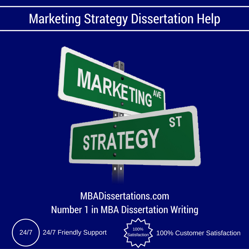 Dissertation on marketing strategy
