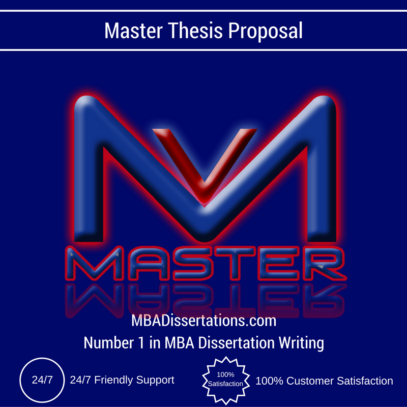 How to write master proposal for thesis
