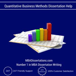 Quantitative dissertation