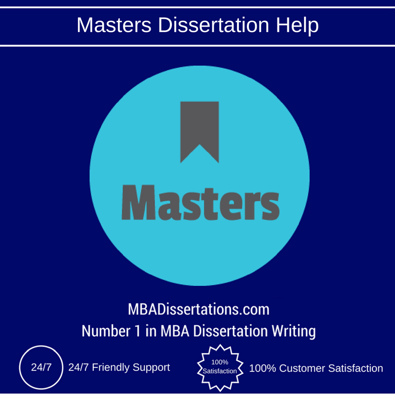 Masters dissertation services finance